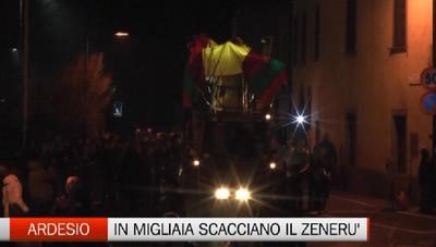 Ardesio - In migliaia alla Scasada del Zenerù