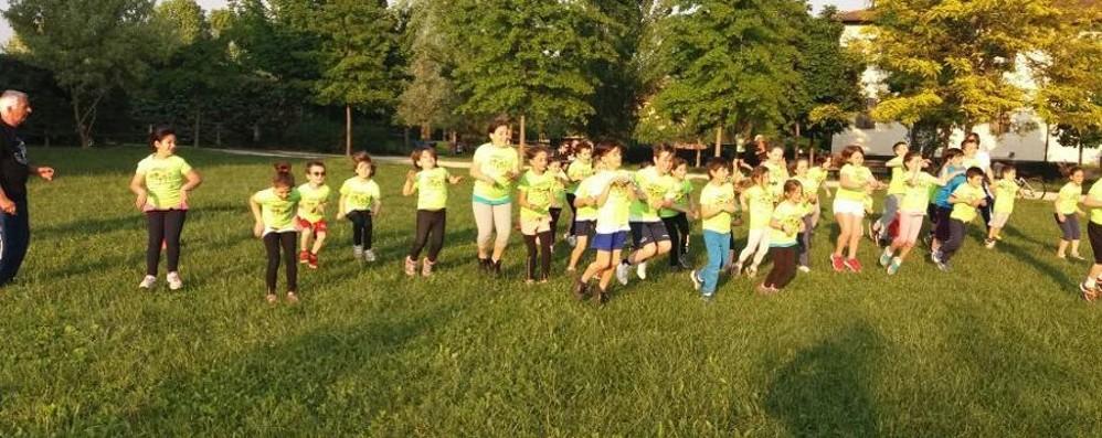 Atletica leggera per i bimbi Il corso con i Runners Bergamo