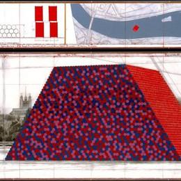 Dopo The Floating Piers la mastaba Christo, sempre sull'acqua ma a Londra
