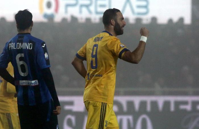 Juventus' forward Gonzalo Higuaín