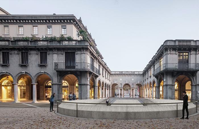 Il progetto del nuovo Centro Piacentiniano