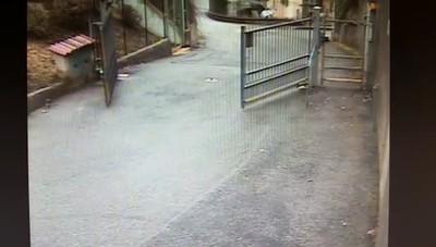 Il filmato dell'anziana scomparsa a Clusone