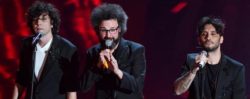 Sanremo è ancora record di ascolti -Foto Avanti Gazzè, Barbarossa e Meta-Moro