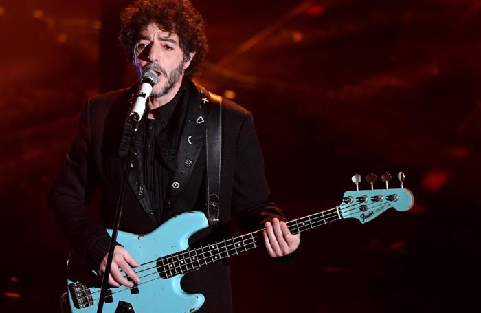 Italian singer Max Gazze'. ANSA/ETTORE FERRARI