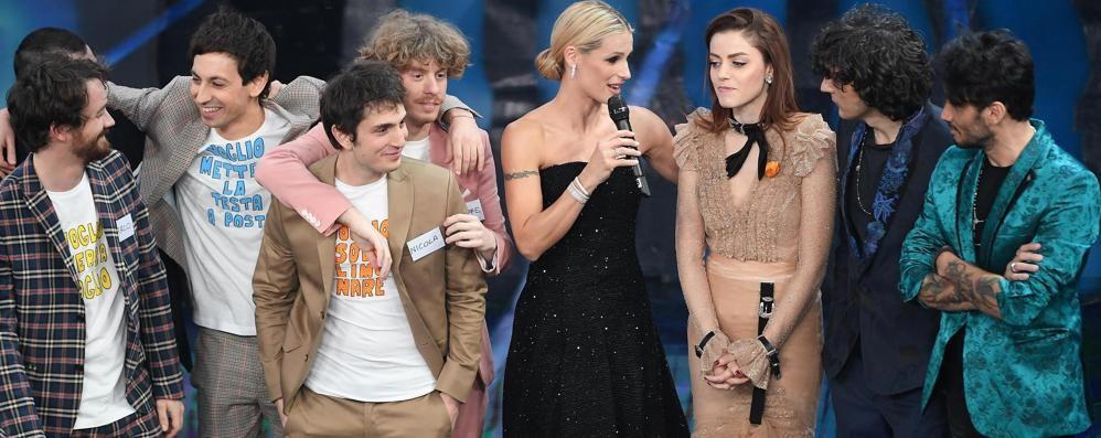 Sanremo, ecco le tre canzoni sul podio Anche i lettori incoronano Meta e Moro