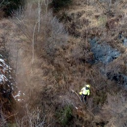 Scomparsa mercoledì, ritrovata senza vita Difficile il recupero del corpo della 82enne