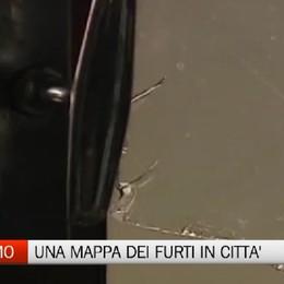 Bergamo - Una mappa dei furti in città