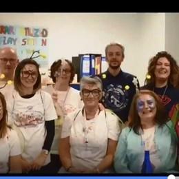 Il carnevale degli amici della pediatria Maschere e sorrisi per i piccoli malati