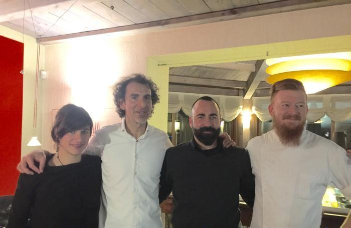 Da sinistra: Abrati, Brasi, Zanardi, Manzoni