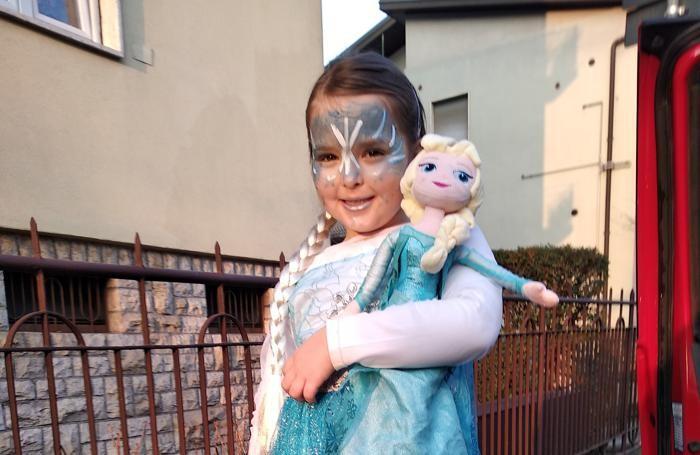 Arianna, piccola regina dei ghiacci