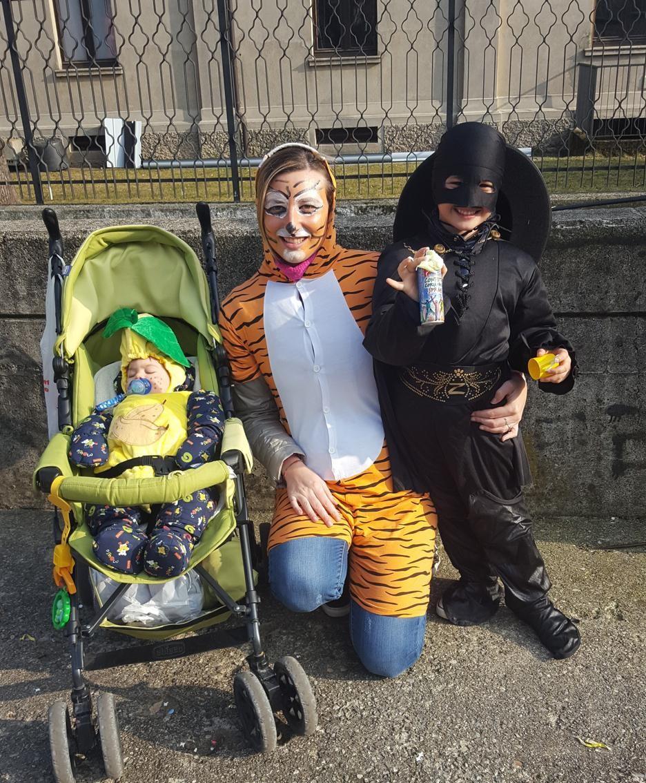 Lara Rota e i suoi figli