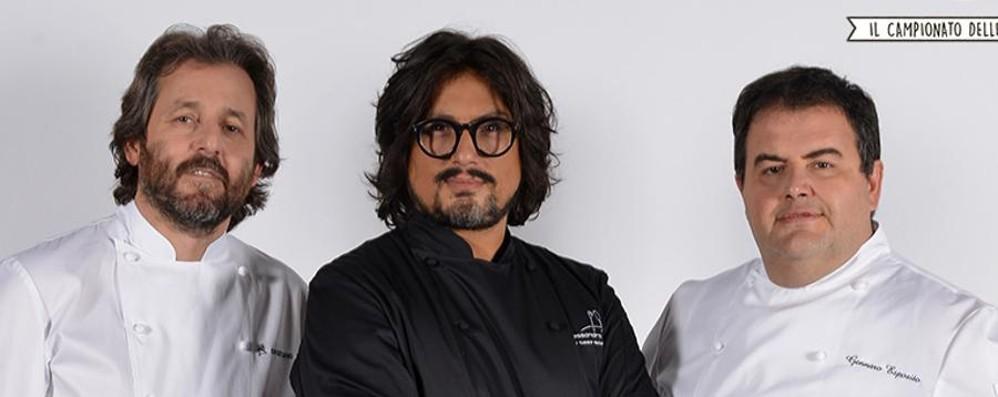 La cucina bergamasca a «Cuochi d'Italia» Trattoria Visconti con chef Borghese