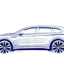 Volkswagen Touareg Anteprima mondiale a marzo