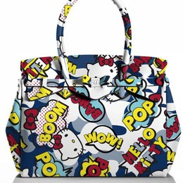 Hello Kitty sulle borse bergamasche Save My Bag, co-branding con Sanrio