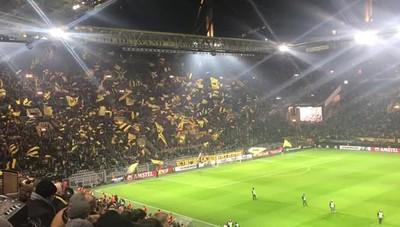 Il famoso muro dei tifosi del Borussia