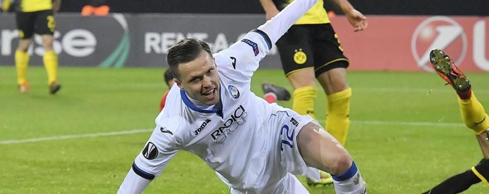 Un'Atalanta da leggenda  spaventa il Borussia:  ko 3-2