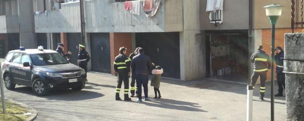 Sostanza tossica per le scale Evacuate sei famiglie a Clusone