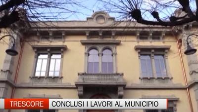 Trescore Balneario, conclusi i lavori al Municipio