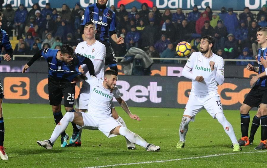 Atalanta-Fiorentina 1-1 - Segui la diretta Petagna torna a sorridere, è pareggio