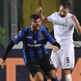 Atalanta ipnotizzata dalla Fiorentina Petagna gol, arriva un pari (1-1)