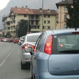 Code da rientro domenica pomeriggio Lunghe code in Val Seriana e Brembana