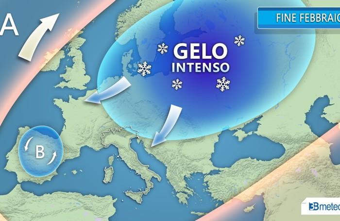 Primavera Lontana Ecco Pioggia E Neve Su Bergamo Ondata Di Gelo