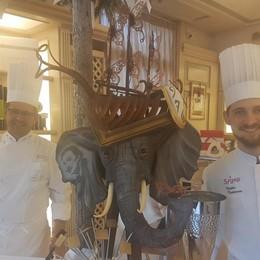 Dalì trasformato in opere di pasticceria Bergamo al Campionato del Mondo