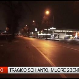 Treviolo - 23enne muore in un incidente