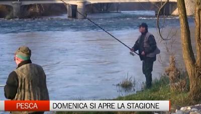Pesca, domenica si apre la stagione