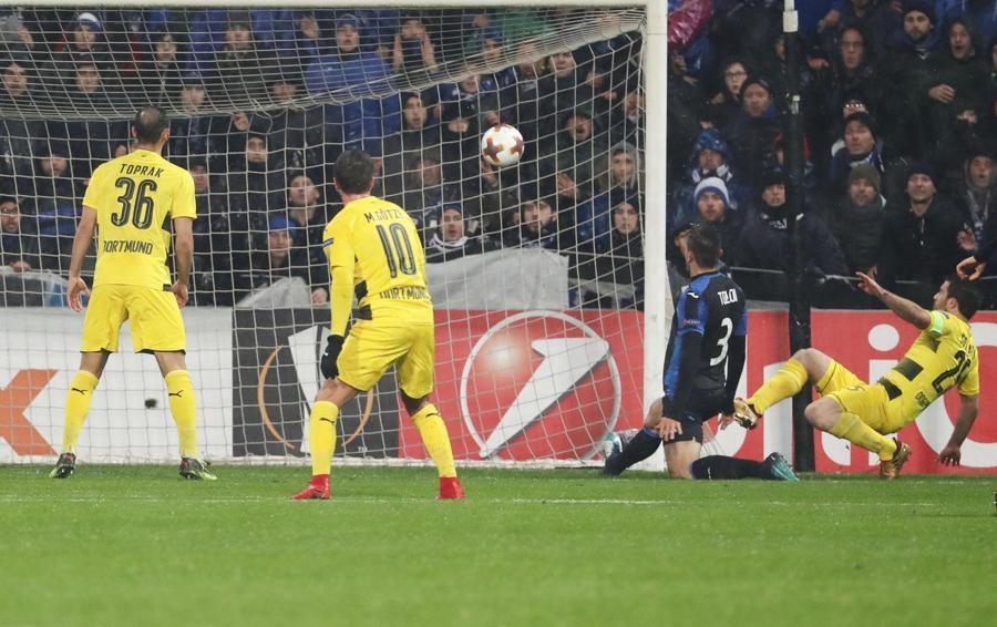 Atalanta-Borussia 1-0 - Segui la diretta Il riscatto di Toloi! Nerazzurri in vantaggio