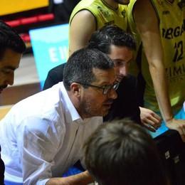 Bergamo Basket, si cambia mister «Cesare Ciocca sollevato dall'incarico»
