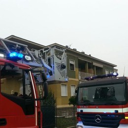 Filago, scoppia un incendio in cucina  3 persone salvate passando dal balcone