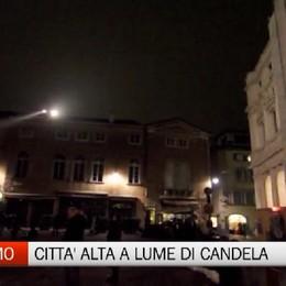 Anche a Bergamo «M'illumino di meno» Città Alta sarà a lume di candela