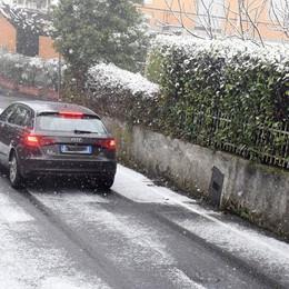 Possibile ghiaccio sulle strade Tamponamenti a Bonate e Treviglio