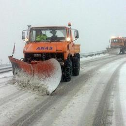 Primi fiocchi di neve in Bergamasca Trenitalia attiva il piano «gelo»