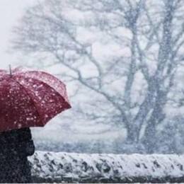 Bergamo, allerta neve per domenica Il freddo continuerà fino a fine mese