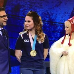 Michela Moioli ospite da Fabio Fazio Su Rai1 le emozioni della vittoria olimpica