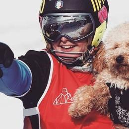«Il cane mi ha mangiato il passaporto» Michela Moioli racconta il pre-Olimpiadi
