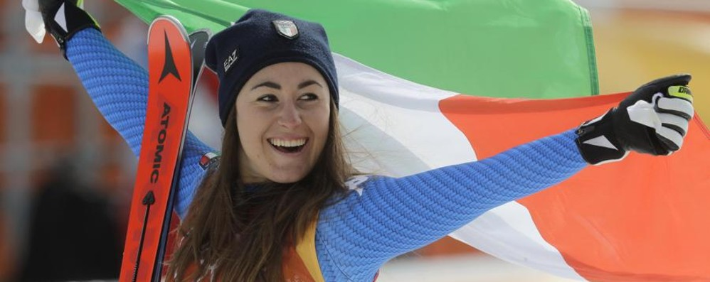 La Bergamo olimpica traina l'Italia Rivivi le imprese di Moioli e Goggia