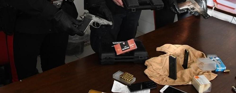 Armi clandestine in un sottoscala Arrestato pregiudicato in centro città