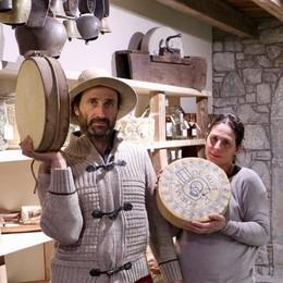 La boutique del «Formai de mut» I «gioielli» del Ferdy a cento euro al chilo