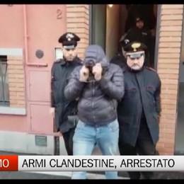 Armi clandestine nascoste, arrestato a Bergamo un rumeno