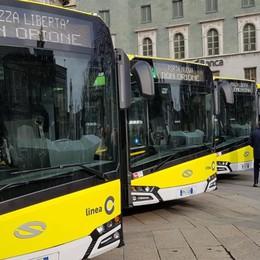 Bergamo, inaugurata la «Linea C» Nuovi bus elettrici, tutte le novità -Video
