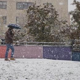 Meteo, codice giallo per rischio neve Fiocchi attesi anche in Bergamasca
