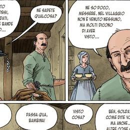 Misteriose apparizioni in bergamasca  Eynard le racconta in un «fumetto»