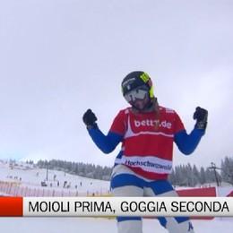 Verso le Olimpiadi, Moioli vince e Goggia seconda