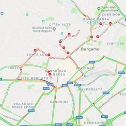 Bergamo la Mezza Maratona Ecco le strade del centro chiuse