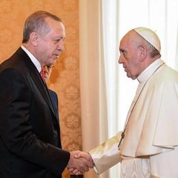 Gli obiettivi di Erdogan nel viaggio a Canossa