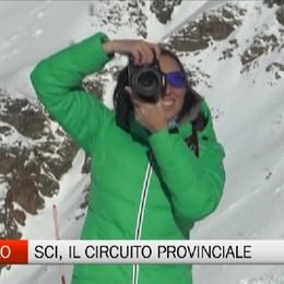 Foppolo, il circuito provinciale di sci alpino