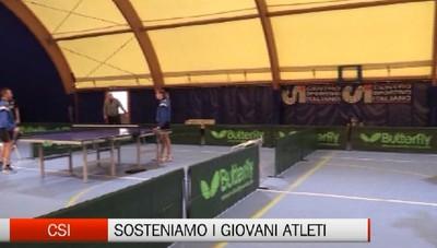 Csi - Tennis tavolo per giovani atleti